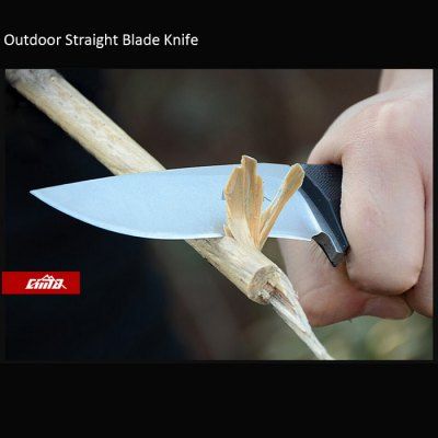 CIMA G08 Straight Blade KnifeFixed Blades Knives<br>CIMA G08 Straight Blade Knife<br><br>Brand: CIMA<br>Model number: G08<br>For: Mountaineering, Hiking, Climbing, Adventure, Home Use, Camping, Other Outdoor Sports<br>Handle Material: G10<br>Blade Material: D2 Stainless Steel<br>Hardness: 62 HRC<br>Color: Silver, Gray<br>Handle Features: Anti-slip<br>Blade Features: Sharp / Durable<br>Whole Length: 20.0cm<br>Blade Length: 9.4cm<br>Handle Length: 10.6cm<br>Product Weight: 0.150 kg<br>Package Weight: 0.350 kg<br>Product Dimension: 20.0 x 3.0 x 0.5 cm / 7.86 x 1.18 x 0.20 inches<br>Package Dimension: 23.0 x 11.0 x 3.5 cm / 9.04 x 4.32 x 1.38 inches<br>Package Contents: 1 x CIMA G08 Straight Blade Knife, 1 x Top K Sheath