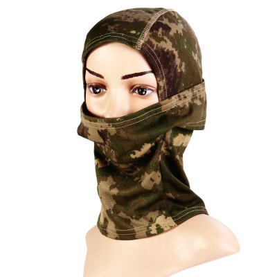 Wrapped Head Cap Mask