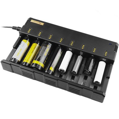 Valon i8s 8 Slots Battery Charger