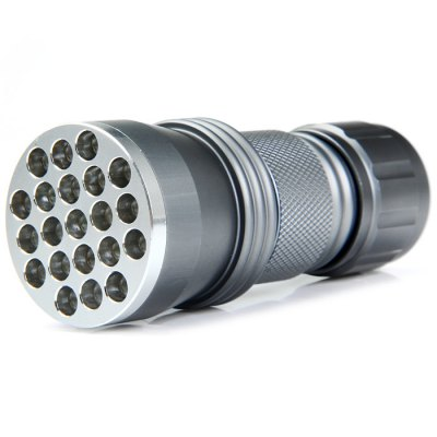 390nm Compact Purple Light LED Flashlight for Currency Detector