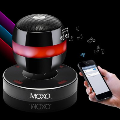 MOXO Magnetic Levitating Bluetooth Speaker with Wireless Charging Base