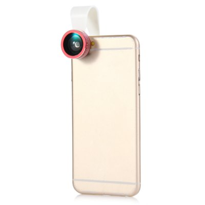 ФОТО Clip-On 0.3X 0.65X Wide Angle Lens + 15X 10X Macro Lens for iPhone 6 / 6 Plus / 6S Samsung Note 5 S6 Edge Plus etc.