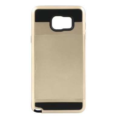 ФОТО ENKAY High-definition Film PET Material Protective Back Case Cover with Card Slot for Samsung Galaxy Note 5 N9200