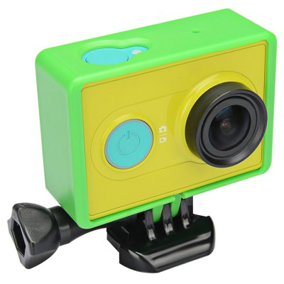 KingMa Housing Side FrameAction Cameras &amp; Sport DV Accessories<br>KingMa Housing Side Frame<br><br>Apply to Brand : Xiaomi<br>Compatible with : Xiaomi Yi<br>Accessory Type: Frame<br>Product Weight : 0.033 kg<br>Package Weight : 0.120 kg<br>Product Size (L x W x H): 10 x 6 x 4 cm / 3.93 x 2.36 x 1.57 inches<br>Package Size (L x W x H): 12 x 8.5 x 4.7 cm / 4.72 x 3.34 x 1.85 inches<br>Package Contents: 1 x Housing Side Frame, 1 x Long Screw, 1 x  Mount Adapter