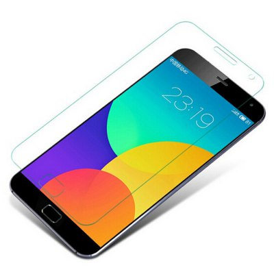 Гаджет   Tempered Glass Screen Protector Film 9H 2.5D Arc for MEIZU MX5 Cell Phones