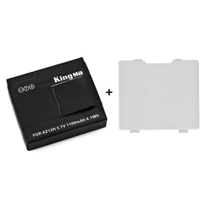 KingMa 1PC USB Dual Charger + 2PCS 1010mAH Li-ion Battery for Xiaomi Yi Action CameraAction Cameras &amp; Sport DV Accessories<br>KingMa 1PC USB Dual Charger + 2PCS 1010mAH Li-ion Battery for Xiaomi Yi Action Camera<br><br>Apply to Brand : Xiaomi<br>Compatible with : Xiaomi Yi<br>Accessory Type: Battery Charger, Battery<br>Battery Capacity : 1010mAh<br>Battery Type: Li-ion<br>Product Weight : 0.098 kg<br>Package Weight : 0.228 kg<br>Product Size (L x W x H): 10 x 6 x 4 cm / 3.93 x 2.36 x 1.57 inches<br>Package Size (L x W x H): 12 x 8.5 x 4.7 cm / 4.72 x 3.34 x 1.85 inches<br>Package Contents: 2 x Battery, 1 x Dual Charger, 1 x USB Cable, 1 x Back Cover