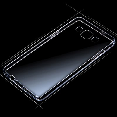 ENKAY Ultra-thin TPU Material Durable Protective Transparent Back Case for Samsung Galaxy A8