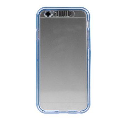 ФОТО ENKAY Clear HD Screen Protector Film Protective TPU Material Back Case Cover with Call Flash for iPhone 6