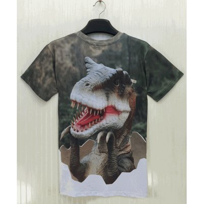 Slimming Round Neck 3D Dinosaur Testa Chipping Print Short Sleeve Mens T-ShirtMens Short Sleeve Tees<br>Slimming Round Neck 3D Dinosaur Testa Chipping Print Short Sleeve Mens T-Shirt<br><br>Material: Polyester, Cotton<br>Sleeve Length: Short<br>Collar: Round Neck<br>Style: Fashion<br>Weight: 0.226KG<br>Package Contents: 1 x T-Shirt<br>Pattern Type: Animal