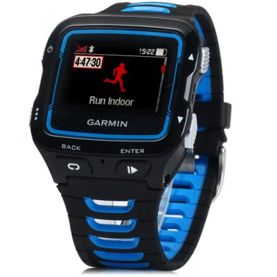GARMIN Forerunner 920XT GPS Smart Watch Heart Rate MonitorSmart Watches<br>GARMIN Forerunner 920XT GPS Smart Watch Heart Rate Monitor<br><br>Brand: GARMIN<br>Bluetooth version: Bluetooth 4.0<br>Waterproof: YES<br>Waterproof rating: 50M<br>Screen: LCD<br>Screen resolution: 205 x 148 px<br>Screen size: 1.38 inch<br>Battery type: Rechargeable lithium-ion<br>Shape of the dial: Rectangle<br>Case material: Plastic<br>Band material: TPU<br>Compatible OS: Android, iOS<br>Language: English<br>Available color: Blue, Red<br>Dial size: 5.4 x 4.9 x 1.3 cm / 2.13 x 1.93 x 0.51 inches<br>Wearing diameter: 15 - 25 cm / 5.91 - 9.84 inches<br>The band width: 2.7 cm / 1.06 inches<br>Product size (L x W x H) : 26.6 x 4.9 x 1.3 cm / 10.45 x 1.93 x 0.51 inches<br>Package size (L x W x H): 14.2 x 9 x 6.8 cm / 5.58 x 3.54 x 2.67 inches<br>Product weight: 0.061 kg<br>Package weight: 0.22 kg<br>Package contents: 1 x Forerunner 920XT GPS Sport Watch, 1 x USB Charging Clip, 1 x English Manual