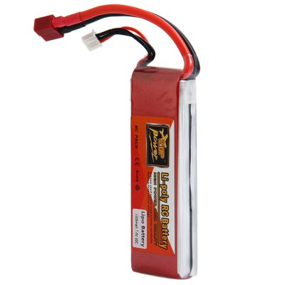 ZOP Power 7.4V 2200mAh 30C T Plug  Lipo BatteryBattery<br>ZOP Power 7.4V 2200mAh 30C T Plug  Lipo Battery<br><br>Type: Battery<br>Model: 10563<br>Battery Voltage: 2s<br>Battery Coulomb: 30C<br>Plug Type: T Plug<br>Package weight: 0.190 kg<br>Package size (L x W x H): 15.50 x 6.30 x 6.50 cm / 6.1 x 2.48 x 2.56 inches<br>Package Contents: 1 x 7.4V 2200mAh 30C Lipo Battery