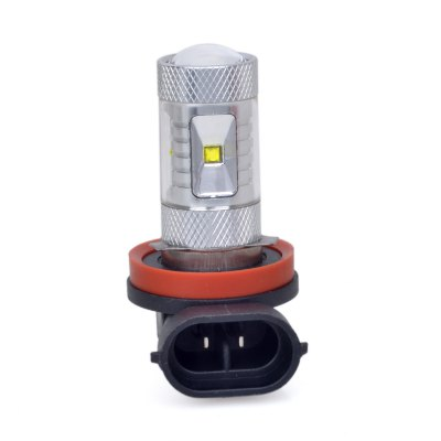 H8 6 x CREE XBD 30W 380LM LED Car Light Fog Lamp ( DC 10 - 24V )LED Light Bulbs<br>H8 6 x CREE XBD 30W 380LM LED Car Light Fog Lamp ( DC 10 - 24V )<br><br>Type: Car Light<br>Car light type: Fog Light<br>Connector: H8<br>Lumens: 380Lm<br>LED: CREE XBD<br>Available Light Color: Cool White<br>Wattage (W): 30<br>Voltage (V): DC 10-24V<br>Features: Low Power Consumption, Easy to use<br>Sheathing Material: Plastic<br>Product weight: 0.025 kg<br>Package weight: 0.075 kg<br>Product size (L x W x H): 6.4 x 4 x 3.1 cm / 2.52 x 1.57 x 1.22 inches<br>Package size (L x W x H): 13 x 8 x 4 cm / 5.11 x 3.14 x 1.57 inches<br>Package Contents: 1 x H8 LED Car Light