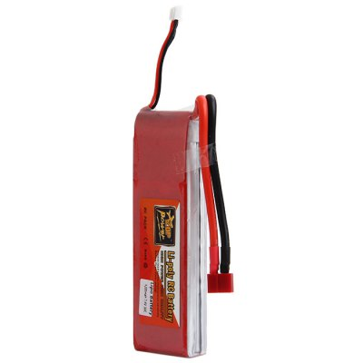ZOP Power 7.4V 4200mAh 30C T Plug Lipo Battery for RC Helicopter