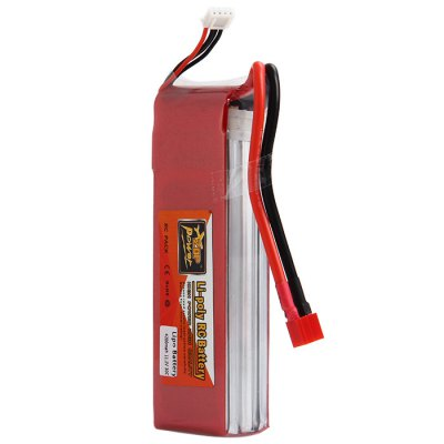 Гаджет   ZOP Power 11.1V 4200mAh 30C T Plug Lipo Battery for RC Helicopter
