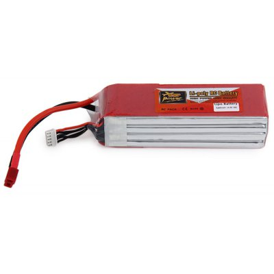 ZOP Power 14.8V 4200mAh 30C T Plug Lipo Battery for RC Helicopter