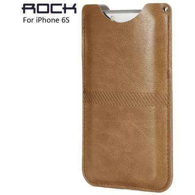 Rock PU Leather Protective Case Phone Bag for iPhone 6S / 6S Plus