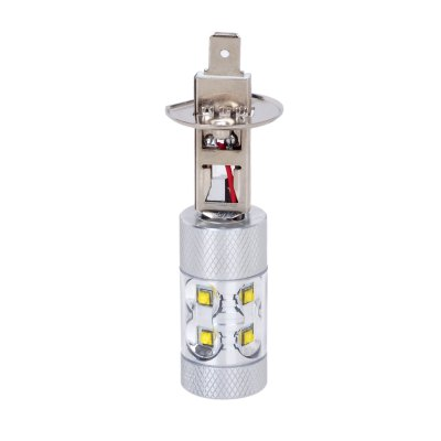 H1 50W 10 x CREE XBD 550Lm LED Car Light Fog Lamp ( DC 10 - 24V )LED Bi-pin Lights<br>H1 50W 10 x CREE XBD 550Lm LED Car Light Fog Lamp ( DC 10 - 24V )<br><br>Available Light Color: Cool White<br>Car light type: Fog Light<br>Connector: H1<br>Features: Low Power Consumption, Easy to use<br>Luminous Flux: 550LM<br>Package Contents: 1 x H1 LED Car Light<br>Package size (L x W x H): 15 x 8 x 4 cm / 5.90 x 3.14 x 1.57 inches<br>Package weight: 0.075 kg<br>Product size (L x W x H): 7.2 x 2.4 x 3.1 cm / 2.83 x 0.94 x 1.22 inches<br>Product weight: 0.027 kg<br>Sheathing Material: Plastic<br>Voltage (V): DC 10-24V<br>Wattage (W): 50