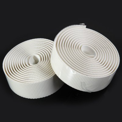 NUCKILY Carbon Fiber Style  Handlebar Tape for BikesOther Accessories<br>NUCKILY Carbon Fiber Style  Handlebar Tape for Bikes<br><br>Brand: NUCKILY<br>Type: Handlebar Band<br>Color: White, Blue<br>Product Weight: 0.085 kg<br>Package Weight: 0.121 kg<br>Product Dimension: 200 x 3.0 x 0.1 cm / 78.60 x 1.18 x 0.04 inches<br>Package Dimension: 22.6 x 9.3 x 3.4 cm / 8.88 x 3.65 x 1.34 inches<br>Package Contents: 2 x NUCKILY Bicycle Road Padded Handlebar Tape, 2 x Clean Sheet, 2 x Plug