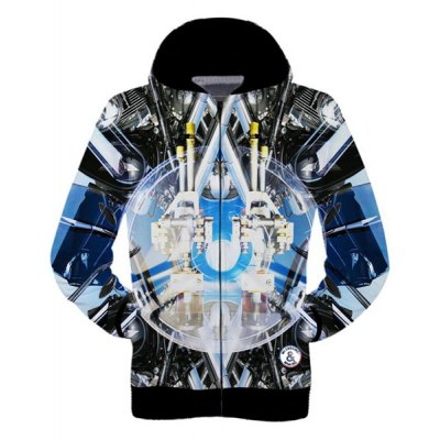 Stylish Fitted Hooded Color Spliced 3D Robot Pattern Long Sleeve Cotton Blend Hoodie For MenMens Hoodies &amp; Sweatshirts<br>Stylish Fitted Hooded Color Spliced 3D Robot Pattern Long Sleeve Cotton Blend Hoodie For Men<br><br>Material: Cotton,Polyester<br>Clothing Length: Regular<br>Sleeve Length: Full<br>Style: Fashion<br>Weight: 0.741KG<br>Package Contents: 1 x Hoodie