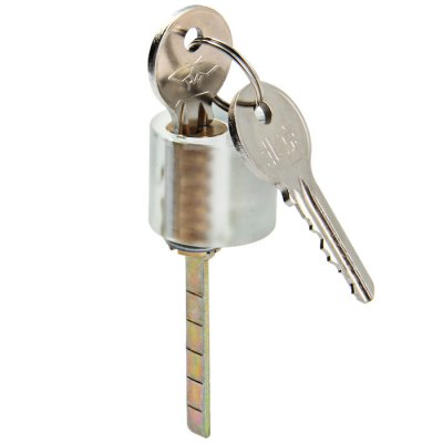 Transparent Slot Lock with 2 Keys