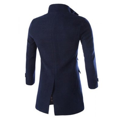 Trendy Slimming Turndown Collar Multi-Pocket Solid Color Long Sleeve Woolen Blend Coat For MenMens Jakets &amp; Coats<br>Trendy Slimming Turndown Collar Multi-Pocket Solid Color Long Sleeve Woolen Blend Coat For Men<br><br>Clothes Type: Wool &amp; Blends<br>Material: Wool, Polyester<br>Fabric Type: Woolen<br>Collar: Turn-down Collar<br>Clothing Length: X-Long<br>Style: Fashion<br>Weight: 1.150KG<br>Sleeve Length: Long Sleeves<br>Season: Fall, Spring, Winter<br>Package Contents: 1 x Coat