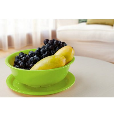 Practical Drain Fruit Bowl