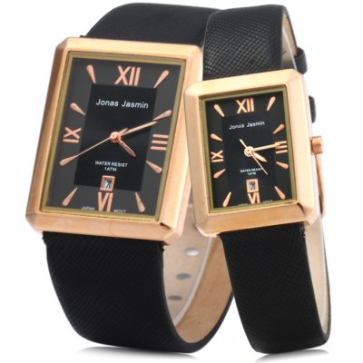 Jonas Jasmin 2044 Couple Japan Quartz Watch