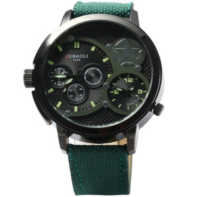 Гаджет   Jubaoli 1026 Male Quartz Watch Men