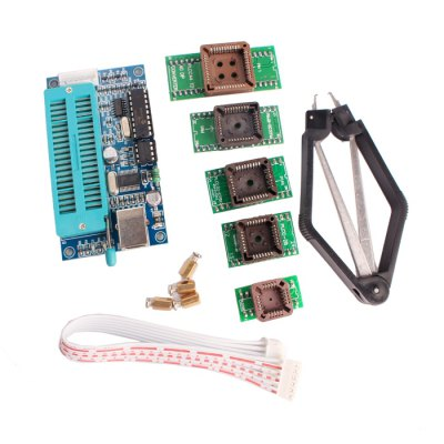 PIC K150 Programmer with PLCC IC Testing Seat Adapter Kit