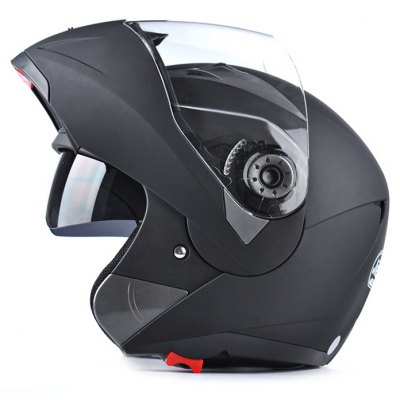 JieKai JK105 Motorcycle Unisex Safety Full Face Helmet with Inner Sun Visor
