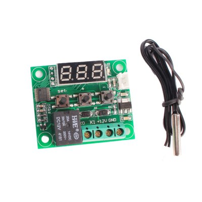 W1209 LCD Digital Temperature Thermostat Control Module