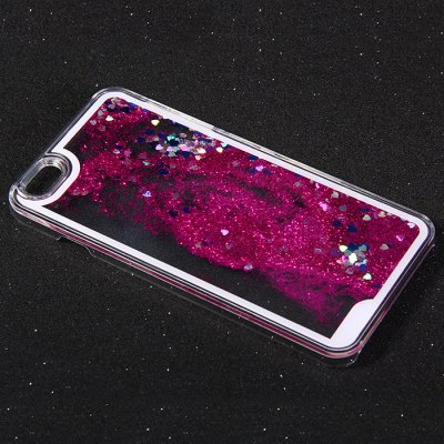 ФОТО PC Protective Back Cover Case Heart Shaped Sequins Design for iPhone 6 - 5.5inch