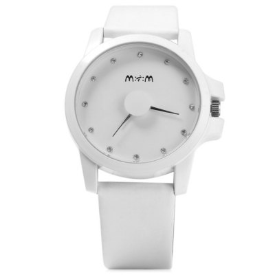 Mitina M200 Ladies Diamond Scales Japan Quartz Watch with Leather BandWomens Watches<br>Mitina M200 Ladies Diamond Scales Japan Quartz Watch with Leather Band<br><br>Brand: Mitina<br>Watches categories: Female table<br>Available color: Plum, Black, White, Blue<br>Style : Fashion&amp;Casual<br>Movement type: Quartz watch<br>Shape of the dial: Round<br>Display type: Analog<br>Case material: Stainless steel<br>Band material: Leather<br>Clasp type: Pin buckle<br>The dial thickness: 0.8 cm / 0.31 inches<br>The dial diameter: 3.3 cm / 1.3 inches<br>The band width: 1.8 cm / 0.71 inches<br>Wearable Length:: 16 - 20.5 cm / 6.3 - 8.07 inches<br>Product weight: 0.037 kg<br>Package weight: 0.087 kg<br>Product size (L x W x H) : 24 x 3.3 x 0.8 cm / 9.43 x 1.30 x 0.31 inches<br>Package size (L x W x H): 25 x 4.3 x 1.8 cm / 9.83 x 1.69 x 0.71 inches<br>Package contents: 1 x Mitina M200 Watch