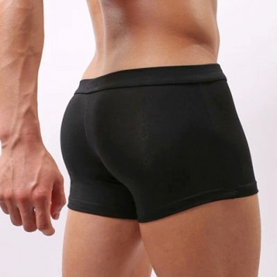 Low Waist Sexy U Pouch Design Solid Color Breathable Mens Modal TrunksMens Underwear &amp; Pajamas<br>Low Waist Sexy U Pouch Design Solid Color Breathable Mens Modal Trunks<br><br>Type: Boxers<br>Material: Modal, Spandex<br>Pattern Type: Solid<br>Weight: 0.132KG<br>Package Contents: 1 x Trunks