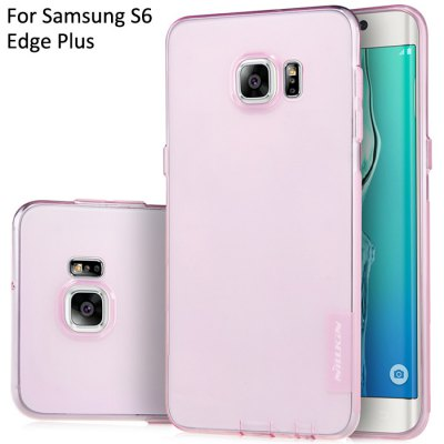 Nillkin Transparent TPU Phone Protective Back Cover Case with Ultrathin Design for Samsung Galaxy S6 Edge Plus