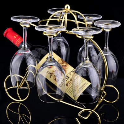 European Chariot Wine Rack Holder