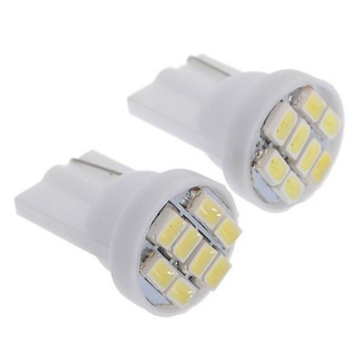 2PCS Car Wedge Side Light Bulb