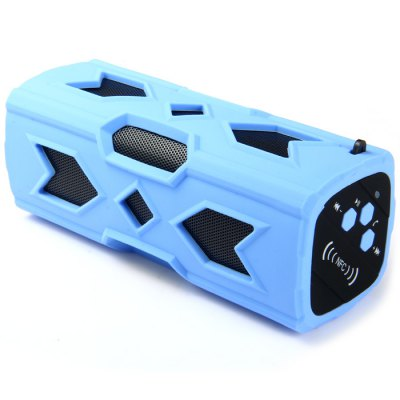 PT - 390 Bluetooth V4.0 SpeakerSpeakers<br>PT - 390 Bluetooth V4.0 Speaker<br><br>Audio File Format: MP3<br>Audio Source: Electronic Products with USB port,Bluetooth Enabled Devices<br>Battery Capacity: 3600mAh<br>Bluetooth Version: V4.0+EDR<br>Charging Time: 3-4 hours<br>Color: Black,Red,Blue,Green<br>Compatible with: Laptop, MP5, iPhone, iPod, Mobile phone, PC, MP3, MP4, Tablet PC<br>Connection: Wireless<br>Design: Multifunctional, Car, Stylish, Portable, Fun<br>Freq: 20Hz-20KHz<br>Functions: Songs Track, AUX Function, Stereo<br>Interface: Power Charge Port<br>Lasting Time: About 10 hours<br>Model: PT - 390<br>Package Contents: 1 x PT - 390 Bluetooth V4.0 Speaker, 1 x AUX Data Cable, 1 x USB Charging Cable, 1 x Iron Hoop, 1 x English Manual<br>Package size (L x W x H): 21 x 7.8 x 7.4 cm / 8.25 x 3.07 x 2.91 inches<br>Package weight: 0.682 kg<br>Power Output: 10W<br>Power Source: USB,Battery<br>Product size (L x W x H): 17 x 6.1 x 6.5 cm / 6.68 x 2.40 x 2.55 inches<br>Product weight: 0.465 kg<br>Protocol: A2DP,AVRCP<br>Standby time: More than or equal to 90 hours<br>Supports: Bluetooth, Volume Control, NFC, Hands-free Calls<br>Transmission Distance: W/O obstacles ?10m