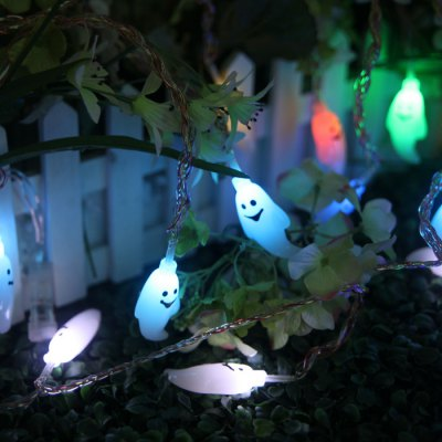 Гаджет   5m 20 LED Ghost Pattern String Light Indoor / Outdoor Decorative Lighting LED Strips