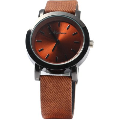 Mitina 259 Women Quartz Watch Japan Movtz with Big Dial Leather BandWomens Watches<br>Mitina 259 Women Quartz Watch Japan Movtz with Big Dial Leather Band<br><br>Brand: Mitina<br>Watches categories: Female table<br>Available color: Brown, Gray, Plum, Red, Blue<br>Style : Fashion&amp;Casual<br>Movement type: Quartz watch<br>Shape of the dial: Round<br>Display type: Analog<br>Case material: Stainless steel<br>Band material: Leather<br>Clasp type: Pin buckle<br>The dial thickness: 0.7 cm / 0.28 inches<br>The dial diameter: 3.7 cm / 1.45 inches<br>The band width: 1.7 cm / 0.67 inches<br>Wearable Length:: 16.5 - 21 cm / 6.5 - 8.27 inches<br>Product weight: 0.036 kg<br>Package weight: 0.086 kg<br>Product size (L x W x H) : 24 x 3.7 x 0.7 cm / 9.43 x 1.45 x 0.28 inches<br>Package size (L x W x H): 25 x 4.7 x 1.7 cm / 9.83 x 1.85 x 0.67 inches<br>Package contents: 1 x Mitina 236 Watch