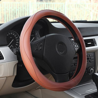 LEBOSH JY-AT-3 Steering Wheel CoverSteering Wheel Covers<br>LEBOSH JY-AT-3 Steering Wheel Cover<br><br>Type: Steering Wheel Cover<br>Brand: LEBOSH<br>Model  : JY-AT-3<br>Material  : Leather<br>Color  : Brown, Black, Beige, Gray<br>Product weight   : 0.470 kg<br>Package weight   : 0.720 kg<br>Product size (L x W x H)  : 38 x 38 x 4.5 cm / 14.93 x 14.93 x 1.77 inches<br>Package size (L x W x H)  : 39 x 39 x 6 cm / 15.33 x 15.33 x 2.36 inches<br>Package Contents: 1 X Steering Wheel Cover