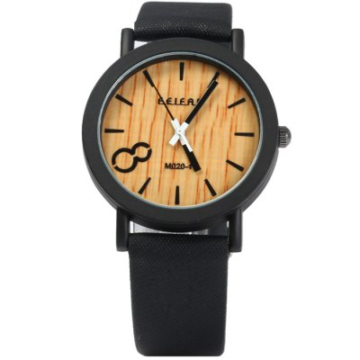 Гаджет   FEIFAN Big Number 8 Male Quartz Watch with Leather Band Men