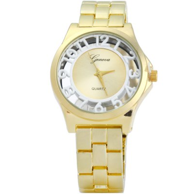 Geneva Women Quartz WatchWomens Watches<br>Geneva Women Quartz Watch<br><br>Brand: Geneva<br>Watches categories: Female table<br>Available color: Black, White, Green, Plum<br>Style : Fashion&amp;Casual<br>Movement type: Quartz watch<br>Shape of the dial: Round<br>Display type: Analog<br>Case material: Stainless steel<br>Band material: Stainless steel<br>Clasp type: Folding clasp with safety<br>The dial thickness: 1 cm / 0.39 inches<br>The dial diameter: 3.7 cm / 1.45 inches<br>The band width: 1.2 cm / 0.47 inches<br>Product weight: 0.100 kg<br>Package weight: 0.15 kg<br>Product size (L x W x H) : 21 x 3.7 x 1 cm / 8.25 x 1.45 x 0.39 inches<br>Package size (L x W x H): 22 x 4.7 x 2 cm / 8.65 x 1.85 x 0.79 inches<br>Package contents: 1 x Geneva Quartz Watch