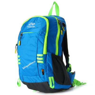 Senterlan S2426 20L Cycling BackpackBackpacks<br>Senterlan S2426 20L Cycling Backpack<br><br>Brand: Senterlan<br>Type: Backpack<br>For: Cycling, Other, Adventure, Hiking, Camping, Fishing, Climbing<br>Material: Polyester<br>Capacity: 11 - 20L<br>Color: Green, Purple, Black, Blue<br>Product weight   : 0.705 kg<br>Package weight   : 0.765 kg<br>Product size (L x W x H)   : 42 x 27 x 10 cm / 16.51 x 10.61 x 3.93 inches<br>Package size (L x W x H)  : 44 x 29 x 12 cm / 17.29 x 11.40 x 4.72 inches<br>Package Contents: 1 x Senterlan S2426 20L Cycling Backpack, 1 x Tarpaulin