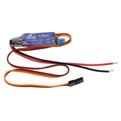 ZTW 3A UBEC ESC Electronic Speed Controller for DIY Parts