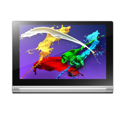 Lenovo Yoga 2-1050LC 3G Phablet - LenovoTablet PCs<br>Lenovo Yoga 2-1050LC 3G Phablet<br><br>Brand: Lenovo<br>Type: Phablet<br>OS: Android 4.4<br>CPU Brand: Intel<br>CPU: Z3745<br>GPU: Intel HD Graphic(Gen7)<br>Core: 1.86GHz, Quad Core<br>RAM: 2GB<br>ROM: 16GB<br>External memory: TF card up to 64GB (not included)<br>Support Network: WiFi, 2G, Built-in 3G<br>WiFi: 802.11b/g/n wireless internet<br>Network type: GSM+WCDMA<br>Frequency: GSM 900/1800/1900MHz WCDMA 900/2100MHz<br>3G : Built in 3G (WCDMA)<br>GPS: Yes<br>Bluetooth: Yes<br>Screen type: Capacitive (10-Point)<br>Screen size: 10.1 inch<br>IPS: Yes<br>Screen resolution: 1920 x 1200 (WUXGA)<br>Camera type: Dual cameras (one front one back)<br>Back camera: 8.0MP (with flash light and auto focus)<br>Front camera: 1.6MP<br>Video recording: Yes<br>TF Card Slot: Yes<br>Micro USB Slot: Yes<br>3.5mm Headphone Jack: Yes<br>Battery Capacity: 9600mAh<br>Battery / Run Time (up to): 9 hours video playing time<br>AC adapter: 100-240V 5V 2A<br>G-sensor: Supported<br>Skype: Supported<br>Youtube: Supported<br>Speaker: Supported<br>MIC: Supported<br>Picture format: GIF, BMP, PNG, JPEG<br>Music format: WAV, WMA, AAC, MP3<br>Video format: MP4<br>MS Office format: Word, Excel, PPT<br>E-book format: TXT, PDF<br>Languages: Portuguese, Russian, German, Italian, English, Dutch, French, Spanish<br>Note: If you need any specific language other than English and you must leave us a message when you checkout<br>Additional Features: MP3, 3G, MP4, Wi-Fi, Light Sensing System, Bluetooth, Gravity Sensing System, GPS, Calendar, Browser<br>Product size: 25.54 x 18.33 x 0.72 cm / 10.04 x 7.20 x 0.28 inches<br>Package size: 26 x 18.8 x 3 cm / 10.22 x 7.39 x 1.18 inches<br>Product weight: 0.629 kg<br>Package weight: 1.100 kg<br>Tablet PC: 1<br>Charger: 1<br>USB Cable: 1<br>English Manual: 1