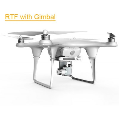 FUAV Seraphi 2.4G 6CH RC Long Flight Time / Control Distance RTF Version with 2 Axis Gimbal Quadcopter