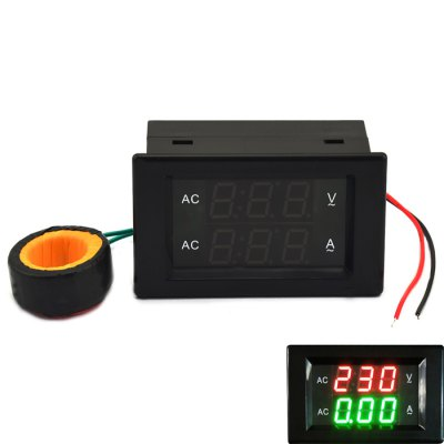 Jtron 3 Digit AC 500V 50A Voltage Current Meter Module