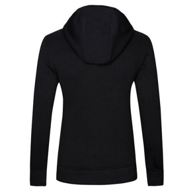 Фотография Fashion Slimming Hooded Oblique Zipper Placket Solid Color Long Sleeve Cotton Blend Hoodie For Men