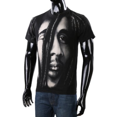 Stylish Loose Fit Round Neck 3D Character Face Print Short Sleeve Cotton Blend T-Shirt For MenShirts<br>Stylish Loose Fit Round Neck 3D Character Face Print Short Sleeve Cotton Blend T-Shirt For Men<br><br>Material: Polyester, Cotton<br>Sleeve Length: Short<br>Collar: Round Neck<br>Style: Fashion<br>Weight: 0.285KG<br>Package Contents: 1 x T-Shirt<br>Embellishment: 3D Print<br>Pattern Type: Figure